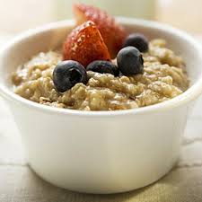 Oatmeal with Fruit + quick dinner ideas